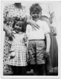 Me and Hilary McCune at Whitehead circa 1957