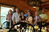 Harry's Happy Huggin' Hikers - Dinner at Carol & Rogers
