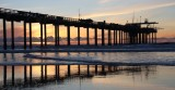 Scripps Pier at Sundown