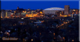 A Panoramic View Of The Syracuse Evening Skyline