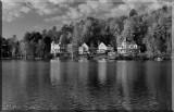 Saranac Lake, New York Shoreline
