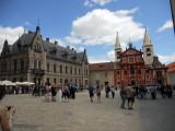 Prague Castle ..3 courtyard ...