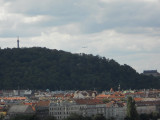 View of Prague from Vysehrad...