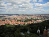 View of Prague from Petrin...