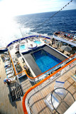 BLACK WATCH Aft Pool from Top Deck