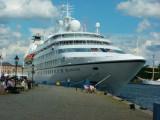 CRUISE SHIPS - SEABOURNE CRUISES