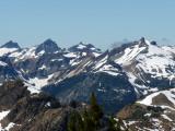Cascade Crest Peaks