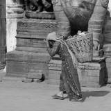 Kathmandu in Black & White