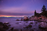 Early morning by Lake Tahoe