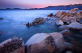 Rocks in Lake Tahoe