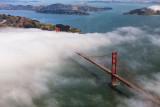 Golden Gate Bridge - from the air