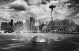 Fountain and Space Needle - Seattle