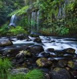 River and Mossbrae falls