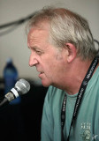 2011_08_06 Terry Wickham at CKUA tent - interview by Terry David Mulligan