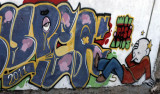 IMG_5376 Graffiti shot from Train to Tigre, Jan 25