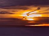 WebCam Sunset Captured by Elke from St Paul, Alberta