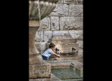 Boy at Fountain  - (Vence)