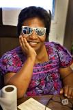 Sunglasses will help with her eye condition, achromatopsia.   IMG_6279.jpg