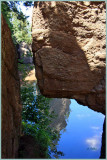A Crevice and  A Reflection