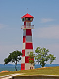 This lighthouse can be found on the shores of Lake Buchanan
