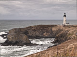 Yaquina Head Lighthouse near Newport. OR