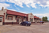 The Ardmore, OK train station