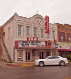 The Ritz Theater, one of two in Shawnee, OK