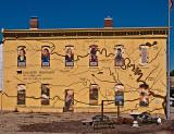 A Tekahma wall mural.