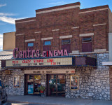 The local cinema, Rugby, ND