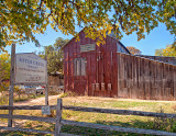 The Sistercreek Vineyard housed in the old cotton gin (circa 1885)