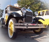 An early Ford (Vignetting added)