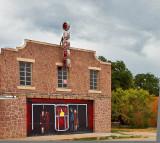 The old Globe theater in Bertram, TX-2012
