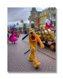 Pluto, Halloween Parade
