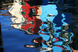 water reflections in Burano