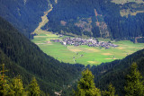 Obertilliach, view from Porze-Hutte