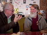 Steve Barbour and Doug Herr (photo Bob Adler)