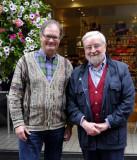 Frank Dernie, Howard Cummer (photo by Esther Cummer)