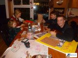 Shabbot Dinner & Crafts 12/18/11