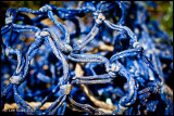 Blue Fish Net