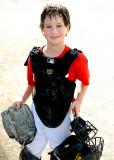 Jack in Catcher Gear