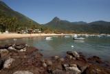 Vila do Abrao: Beach