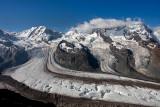 Monte Rosa and Gornergletscher