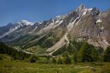 Rifugio Bertone-Lavachey: Val Ferret and Mont Blanc Chain