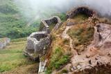 Inca Ruins in Clouds