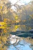 Santa Fe River at Oleno Park-scary low water  2007