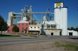Ft Collins grain elevator and feed plant.