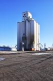 Chalmers & Borton Construction Company-Builders Grain Elevators.