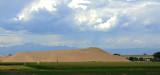 Northern Colorado man-made sand dune.
