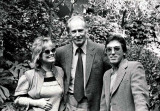 Nancy Clendaniel with George Martin & Frank Cotolo