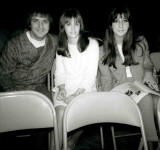 Photo of Nancy Clendaniel with Sonny & Cher, Nov 20, 1965, Photo by Rick Gillar - Phila. PA